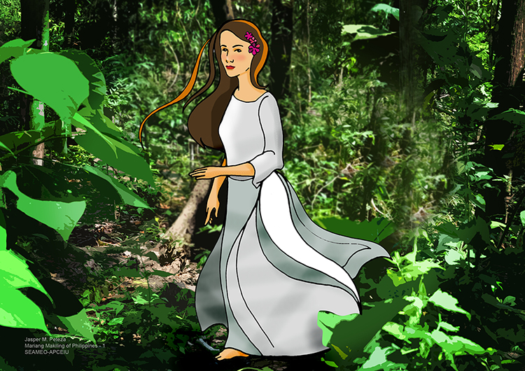 mariang makiling Mariang makiling mt makiling,laguna, philippines long ago,in mount makiling,there lived a beautiful goddess name mariang makiling she is beautiful,kindhearted and loving.